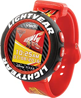 Cars 3 507203 Lightning McQueen Camera Watch, Red/Black