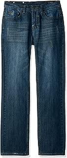 Buffalo David Bitton Boys Evan- X Slim Fit Denim Jeans with Stretch Jeans - Blue