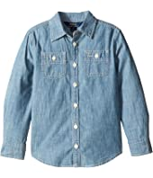 Polo Ralph Lauren Kids - Chambray Top (Little Kids)