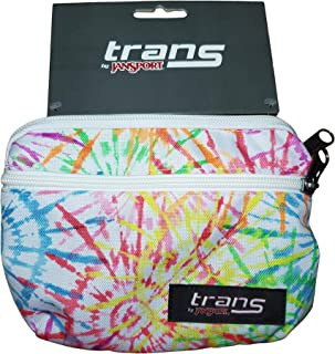 JanSport Waist Pack Trans Tie Dizzle White Fanny Pack | Tie Die Design