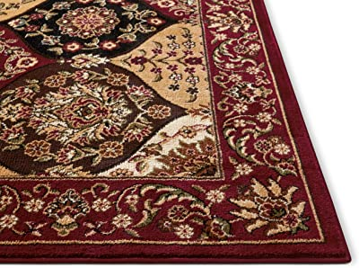 Amazon.com: Unique Loom Estrella Collection Vibrant Abstract ...