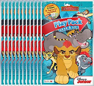 Disney Junior The Lion Guard Grab and Go Play Packs (Pack of 12)