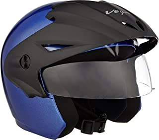 Vega Cruiser CR-W/P-MB-M Open Face Helmet (Metalic Blue, M)