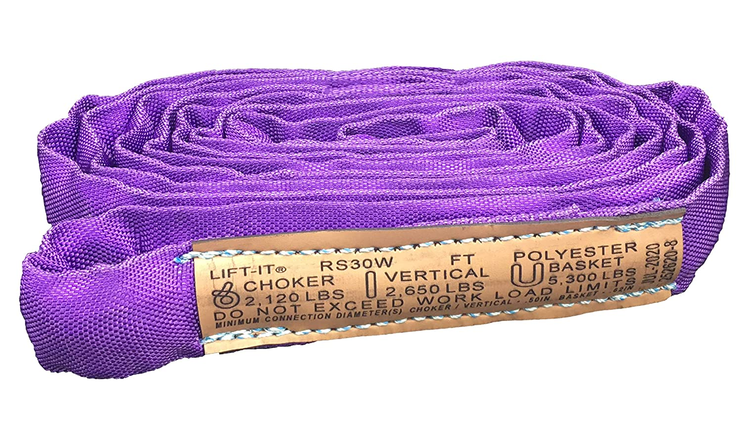 Lift-It Mfg. Endless Polyester Round Sling Lengt Heavy Duty Brand new Be super welcome 4'