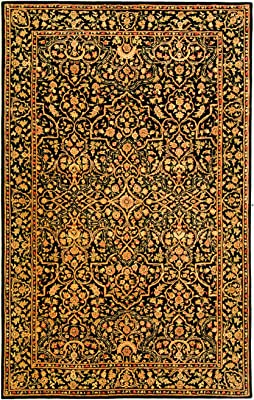 Safavieh Persian Court Collection PC162B Traditional Oriental Silk & Wool Area Rug, 4' x 6', Multicolored