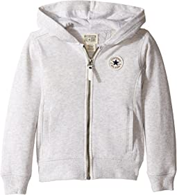Converse Kids CTP Rib Panel Front Zip (Toddler/Little Kids)