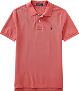 Polo Ralph Lauren Kids - Cotton Mesh Polo Shirt (Big Kids)