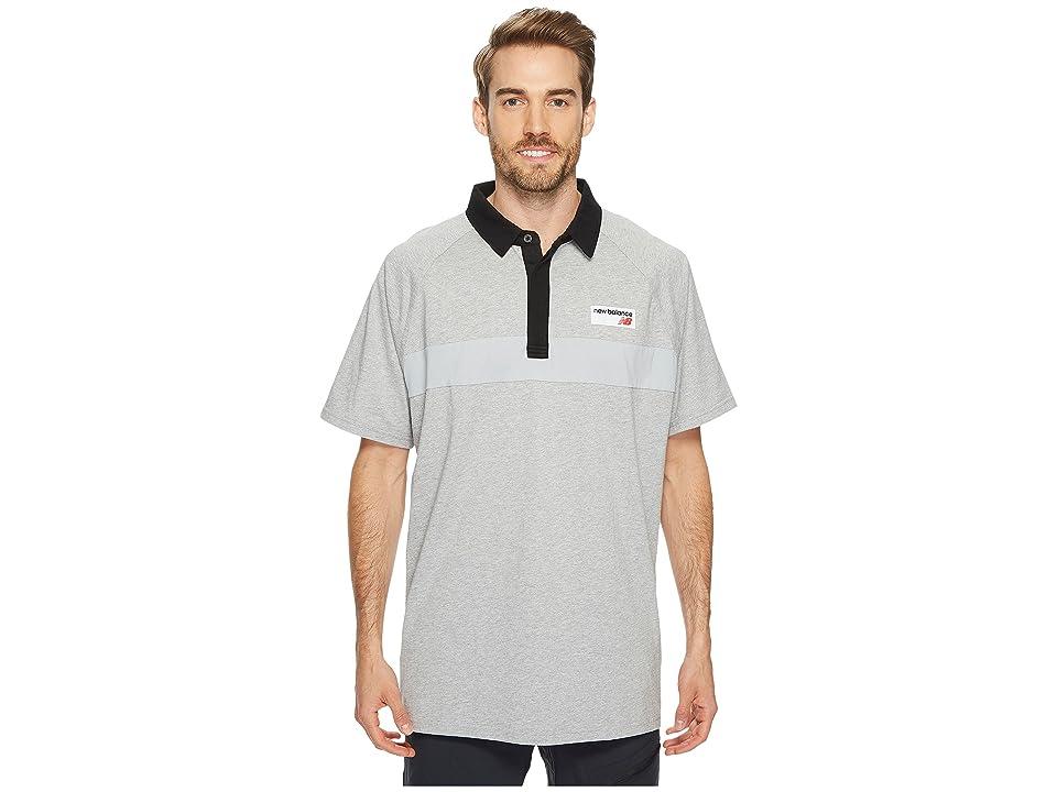 New Balance Athletics Polo (Athletic Grey) Men
