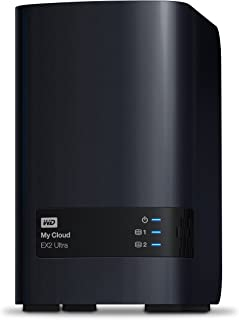 WD 28TB My Cloud EX2 Ultra 2-Bay Network Attached Storage - NAS & RAID - WDBVBZ0280JCH-NESN