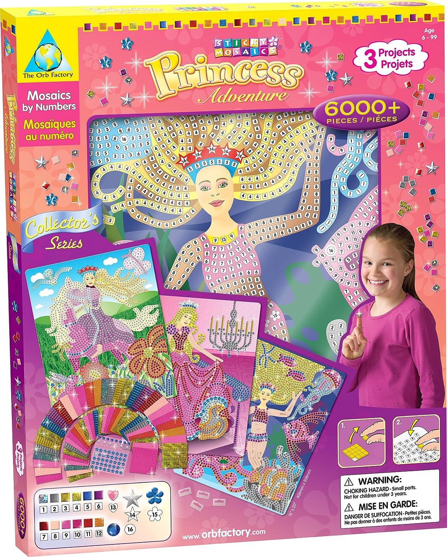 Sticky Mosaics Collector's Series Princess Adventure B001QF8028  | Sale Online Shop