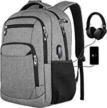 Laptop Backpack,College Backpack with USB Charging Port School Bookbag for Men and Women