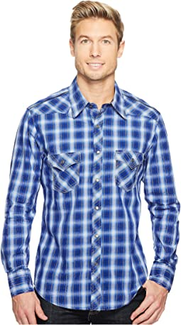 Rock and Roll Cowboy - Long Sleeve Snap B2S2058