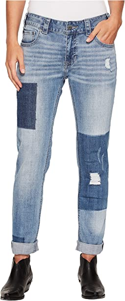 Rock and Roll Cowgirl - Boyfriend Skinny in Light Vintage W2S4610