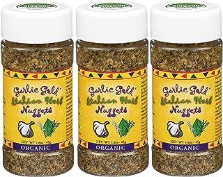 Organic Garlic Gold Nuggets (Crunchy Garlic & Italian Herb)