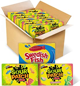 Candy Variety Pack, 15 Movie Theater Candy Boxes