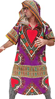 RaanPahMuang Heart Dashiki Jacket Hoody Long Shirt Fashion