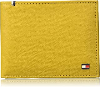 Tommy Hilfiger Yellow Men's Wallet (TH/CROMPTONPCW14)