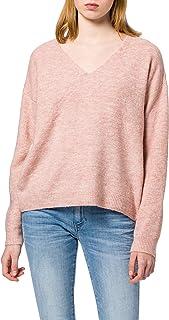 PIECES Damen Pcperla Ls V-Neck Knit Noos Bc Pullover