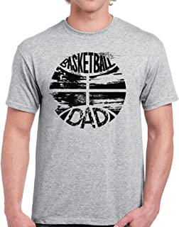 Basketball Dad Shirt for Men Basketball Gifts for Dad Father's Day Tee