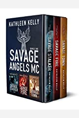 Savage Angels MC Collection Books 1 - 3 : Motorcycle Club Romance Kindle Edition