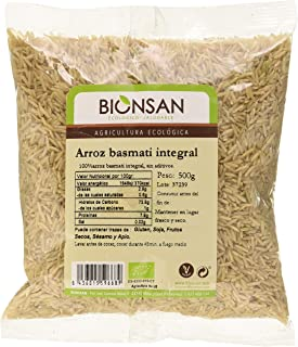 comprar comparacion Bionsan Arroz Basmati Integral - 500 g