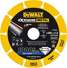 Estrich Ziegel 125 mm DT3711 5 x Dewalt Diamanttrennscheibe Trennscheibe Beton