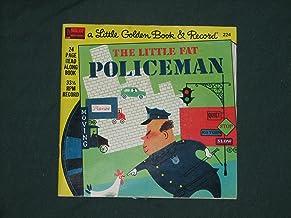 Little Golden Book & Record - The Little Fat Policeman - Disneyland Record