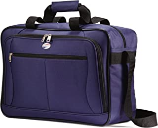 American Tourister Luggage Pop Extra Carry on Boarding Bag (One Size, Navy)