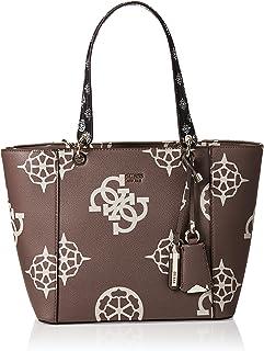 GUESS Womens Handbag, Taupe/Multicolour - SO669123