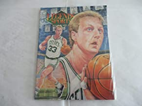 JANUARY/FEBRUARY 1993 NEWSTAND EDITION/COVER 2 LEGENDS SPORTS MEMORABILIA MAGAZINE FEATURING LARRY BIRD OF THE BOSTON CELTICS