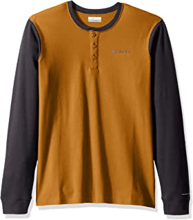 Columbia Mens KetringTM Long Sleeve Henley Ii 3/4 Sleeve Shirt