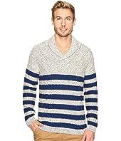 Nautica - 3 Gauge Shawl Pullover