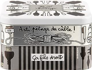 Derri/ère la porte Color Gris Caja para frigor/ífico