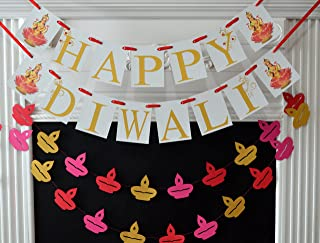 Happy Diwali Banner, Mother Laxmi, Diwali Decorations, Diwali Banner, Diwali Nagar decoration, Laxmi Puja, Happy Diwali sign
