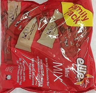 Elite Mini Mix Mini Milk Chocolate Bar Kosher For Passover 14.1 Oz. Pack Of 1.