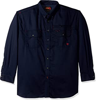 Ariat Men's Big and Tall Flame Resistant Work Shirt
