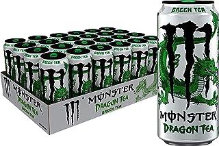 Monster Energy Dragon Tea, Green Tea, 15.5 Fl Oz (Pack of 24)