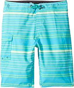 Magnetic Liney Mod Boardshort (Big Kids)