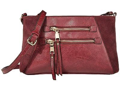 SOLE / SOCIETY Chele Crossbody (Oxblood) Handbags