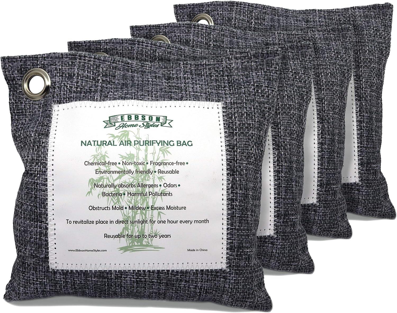 Naturally depot Detroit Mall Activated Bamboo Charcoal Air set 200g Purifying Bags
