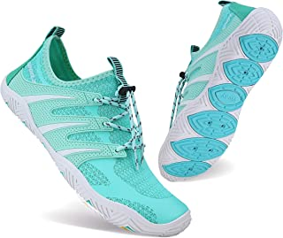 BAGGII Mens Womens Water Shoes Quick Dry Barefoot Aqua Shoes Beach Sports Shoes for Boating Surfing Swimming Yoga
