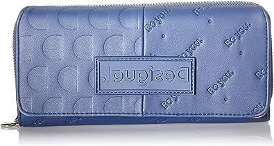 Desigual Accessories PU Long Wallet, Largo Walet. para Mujer, U