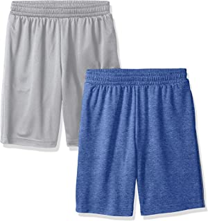 Amazon Essentials Boys' 2-Pack Mesh Short Niños