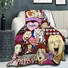 "Super Soft Light Weight Throw Blanket Satori Tendou Summer Quilt for Bed Couch Sofa 80""X60"" Large for Adult"