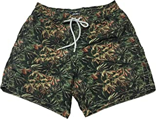 ZEYBRA Costume Uomo Boxer Camouflage MOD AUB815 Palm Camou MILITY Made in Italy