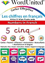 Numbers in French: Write & Wipe Flashcards