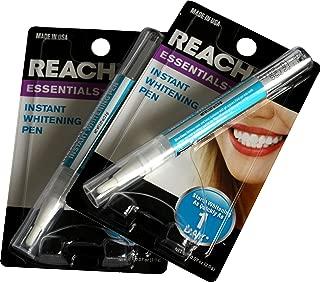 2 Pack - Reach Essentials Instant Teeth Whitening Pen