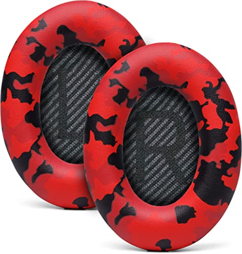 WC Premium Replacement Ear Pads for Bose Headphones Made by Wicked Cushions - Supreme Comfort - Compatible with QC35 ...