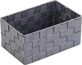Bosphorus Hand Knitted Basket, Grey, Large, Qymb7253B-L
