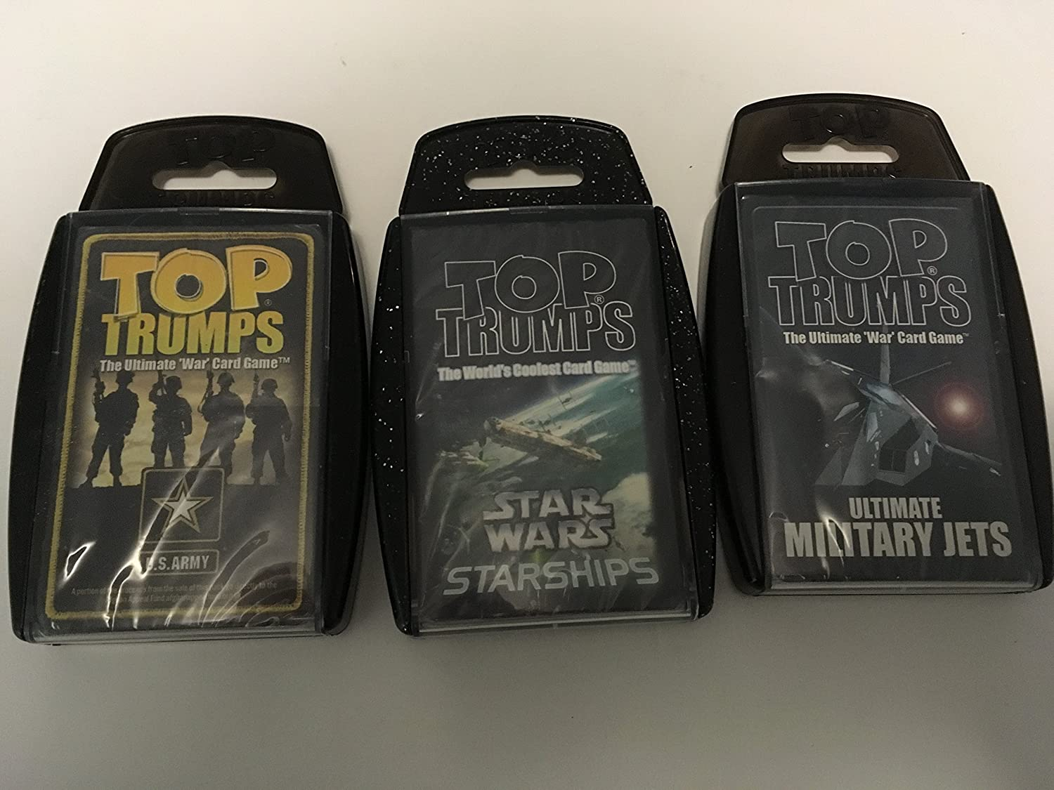 Top Trumps - Ultimate Military Connection - 3 Pack with US Army, Jets and Warships